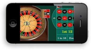 Mobile roulette casino games