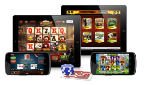 Play real money online slots for mobile devices at Canada's lea